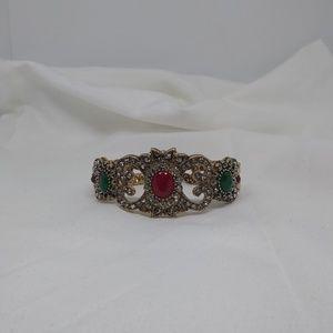 Turkish Resin Flower folding Bracelet